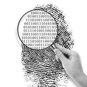 Huella digital fraudulenta ampliada